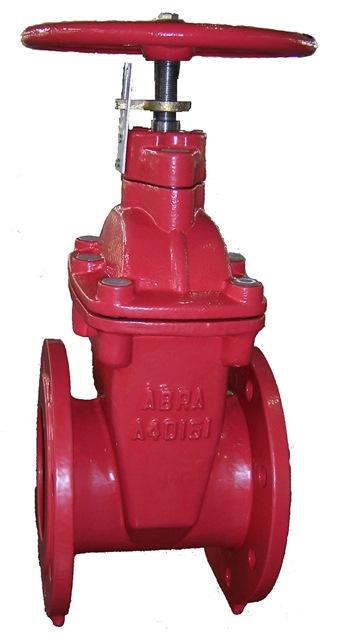 Задвижка с индиктором положения (пожарная) ABRA / АБРА