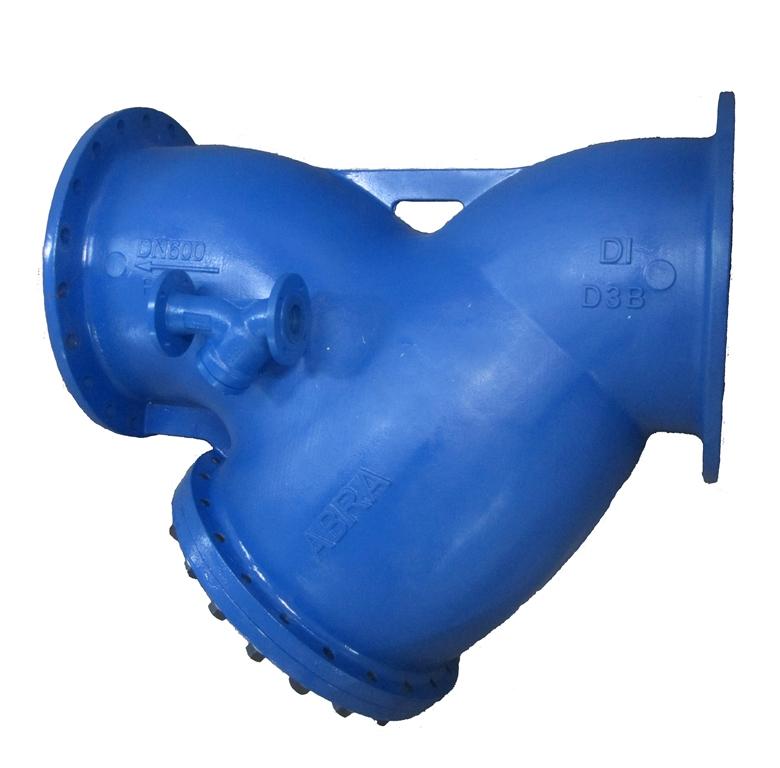 Фильтр магнитный фланцевый ФМФ, Фильтр магнитно-механический сетчатый фланцевый чугунный с магнитной вставкой Ду 15-500 Ру 16 ABRA-YF-3016-D ФМФ. Магнитный фильтр фланцевый.