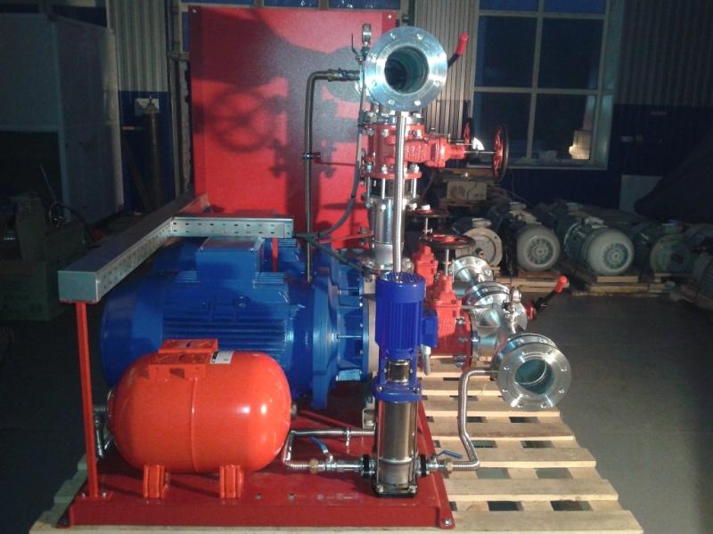 Насосная установка пожаротушения СанГур ВНУ 55 кВт