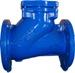 Обратный клапан шаровой для канализации и пр. ABRA фланцеый