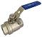 Шаровые краны полнопроходные нержавеющие резьбовые (муфтовые) из SS316 (CF8M)