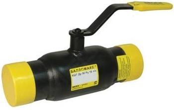 Кран шаровой 11с10фт  стальной Ballomax (Балломакс) присоединение сварка / сварка Ру16 Ду15-150 с рукояткой. Серия КШТ 60.002.XXX для использования в ИТП, ЦТП, системах теплоснабжения, холодоснабжения, охлаждения и промышленного сектора. Т мин/макс : - 40/150C