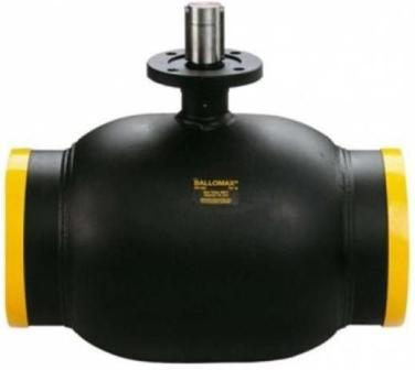 Ростест Кран шаровой стальной Ballomax (Балломакс) присоединение сварка / сварка Ру25 Ду125-500 с рукояткой. Серия КШТ 61.102.XXX для использования в ИТП, ЦТП, системах теплоснабжения, холодоснабжения, охлаждения и промышленного сектора. Т мин/макс : - 40/200 C