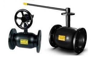 Кран шаровой стальной Ballomax (Балломакс (ballomax)) присоединение фланец / фланец Ру16/25 Ду125-500 с рукояткой. Серия КШТ 61.103.XXX для использования в ИТП, ЦТП, системах теплоснабжения, холодоснабжения, охлаждения и промышленного сектора. Т мин/макс : - 40/200 C