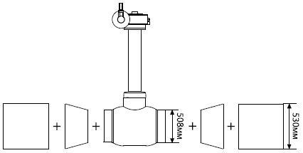 Монтаж шаровых кранов Балломакс сварных на трубу по ГОСТ