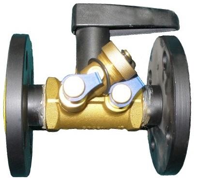 BALLOREX V Ду 015-050  - фланцевые Ру16 балансировочные клапаны Броен