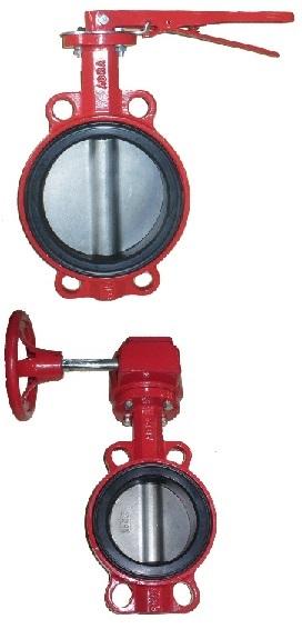 PN16 DN32-600 GG25 / AISI316 / EPDM с рукояткой или редуктором