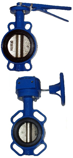 PN16 DN32-600 GG25 / GGG40 / EPDM с рукояткой или редуктором