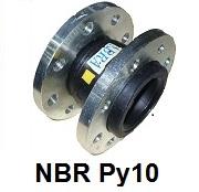 Виброкомпенсатор NBR Ру10 / Гибкая вставка / Компенсатор антивибрационный фланцевый
