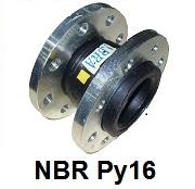 Виброкомпенсатор NBR Ру16 / Гибкая вставка / Компенсатор антивибрационный фланцевый
